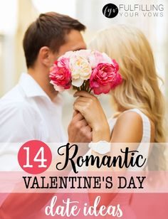 Could you use some romantic Valentine's Day date ideas? Here are 14 romantic Valentine's Day date ideas to help you plan the perfect date. :: fulfillingyourvows.com