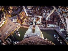 Those who suffer from vertigo, don't watch this -> POV Crane Climb in Southampton, UK with James Kingston - GoPro HD Hero 3...