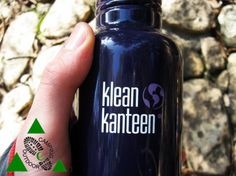 Klean Canteen Classic 0,8 litri borraccia in acciaio.