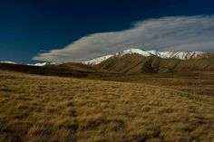 The MacKenzie Country, South Canterbury,  New Zealand.  Photo Credit: Jan Macpherson
