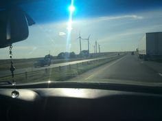 Windmills producing Electricity in Illinois