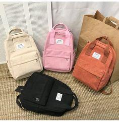 New Trend Female Backpack Fashion Women Backpack College School School Bag Harajuku Travel Shoulder Bags For Teenage Girls 2019 Size: Fashion Bags, Fashion Backpack, Fashion Women, Fashion Online, Style Fashion, Mochila Nike, Estilo Harajuku, Shoulder Backpack, School Backpacks