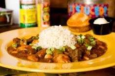 Highway 61 Roadhouse's Chicken and Andouille Sausage Gumbo #recipe at feastSTL.com