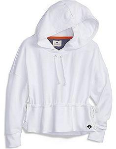 Sperry Nautical Hoodie White