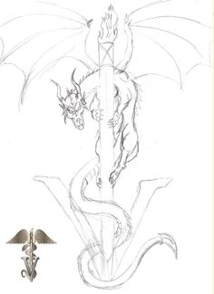 Want a tattoo like this, but the dragon would be bigger, more aggressive but girly and lots of color!