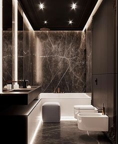 Amazing bathroom designed by Mart Architects . Bathroom Goals, Small Bathroom, Master Bathroom, Bathroom Bath, Bathroom Trends, Unusual Bathrooms, Beautiful Bathrooms, Bathroom Design Luxury, Modern Bathroom Design