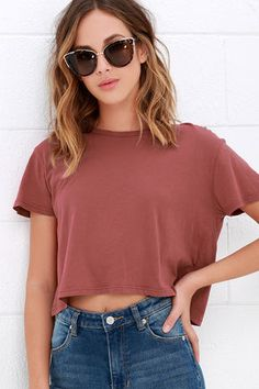 8edd47f605f0c3 47 Best crop top designs images