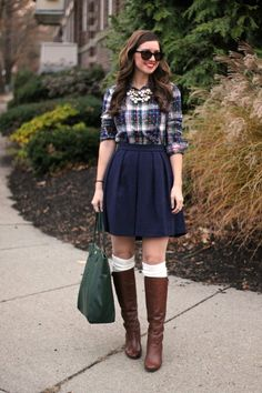 Plaid, Pearls & Boots