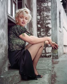 Marilyn Monroe by Milton Greene-The Hooker Sitting, LA, 1956