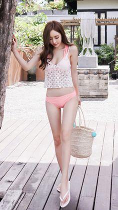 Yoon ju too sexy Asian Cute, Pretty Asian, Cute Asian Girls, Beautiful Asian Women, Cute Girls, Asian Fashion, Girl Fashion, Asian Model Girl, Lingerie
