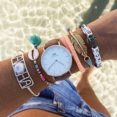 bracelets and daniel wellington watch