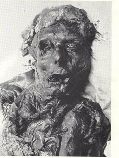 Bog bodies - Borre Fen / Borremose Man The man was violently killed by having…