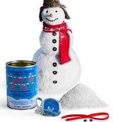 Kikkerland Instant Snow in a Can Powder Kikkerland …..amazon.com