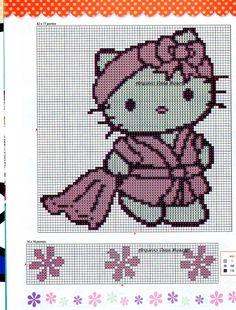 cross stitch hello kitty - Google-Suche