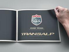 "Photo Album ""Honda XL 700 VA Transalp - by Maxim Tyutmanov, via Behance Honda, Album, Print Design, Behance, Personalized Items, Travel, Viajes, Destinations, Traveling"