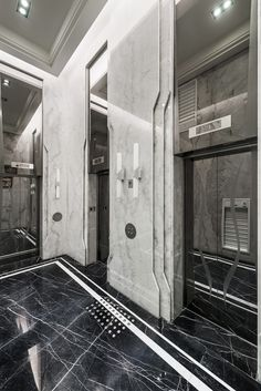 iconic elevator hall