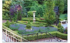 formal english garden design | International Inspiration | Landscaping | Landscape Care & Ideas