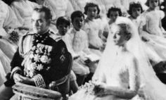 Monaco royal weddings: Grace Kelly and Prince Rainier III