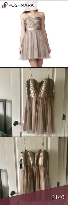 Aidan Mattox NWT Special Occasion Dress SIZE 10 NEW Aidan Mattox dress in amazing condition. Never worn. Non-smoking home. Style #: 524452370 in Mink Retail is $298. Aidan Mattox Dresses Midi