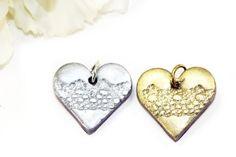 Lace Heart Pendant Beads