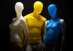 BULB Collection by More Mannequins #MaleMannequin #FemaleMannequin #translucent #luminescent #fluorescent