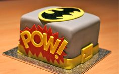 batman birthday cake!!