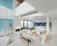 20 Beautiful Living Room Layout with Two Focal Points | Home Design Lover
