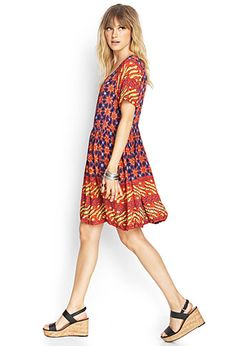 This dress would be soooooo hippie or boho once you add a hat of course
