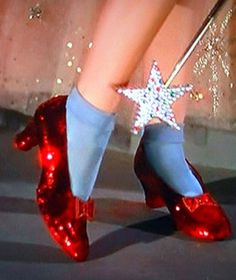 The classic red slippers that follow us during our childhood days.. Wizard of Oz