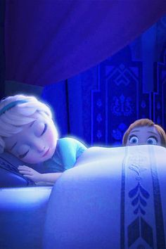 Do you wanna build a snowman?<< Come on let's go and play!<< I never see you anymore, come out the door, it's like you've gone away!