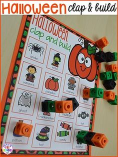 Fun engaging Halloween activities and centers for preschool, pre-k, and kindergarten. Take the Halloween theme in all your classroom centers with these Halloween activities. Maths Halloween, Halloween Week, Theme Halloween, Halloween Activities, Autumn Activities, Halloween Crafts Kindergarten, Halloween Tricks, Halloween Projects, Family Activities