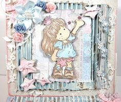 Tilda Easel Drawer Card