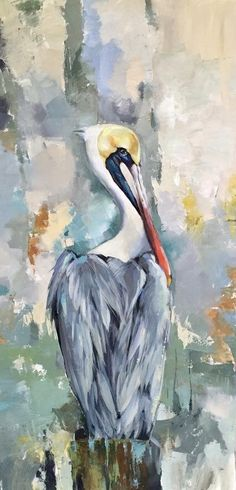 Louisiana brown pelican by Anya Lincoln-Dunn Pelican Drawing, Pelican Art, Watercolor Bird, Watercolor Paintings, Beach Paintings, Watercolors, Louisiana Art, Louisiana Gumbo, Louisiana Recipes