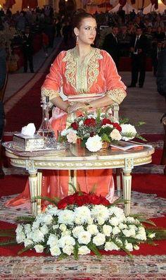 Moroccan princess Lalla Salma #Moroccancaftan