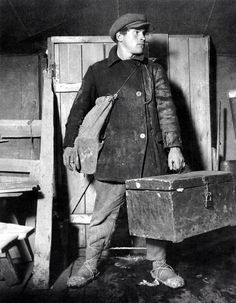 1920s fisherman