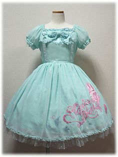 Angelic Pretty Mermaid Symphony in Mint