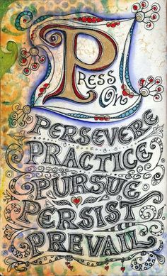 visual blessings: Perseverance Journal Part 3