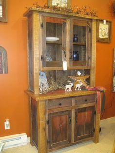 Buffets and hutches - reclaimed barn wood furniture | Fence Row Furniture