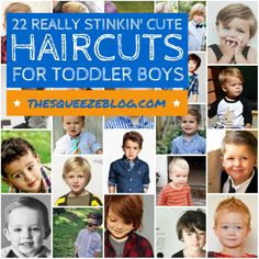 Toddler boy haircut ideas...