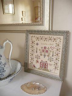 Louisa Bell, la belle - Tempus fugit design: Blackbird Designs (booklet Honwysuckle Manor)