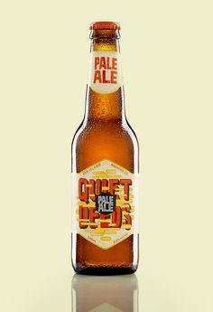 Quiet Deeds PaleAle - something a little 'comic' about this. Likey.
