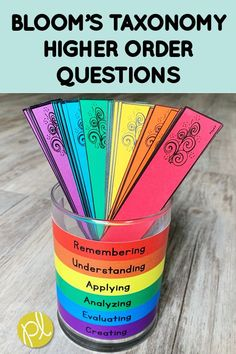 Bloom'\s Taxonomy - Add variety to your questioning with these free HOTS cards! Print the higher order question stems based on Bloom's Taxonomy for your next student discussion. From Positively Learning Blog. #higherorderthinking #freeteachingmaterials