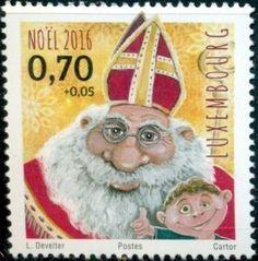 Sello: Christmas (Luxemburgo) (Christmas) Mi:LU 2107,Yt:LU 2051