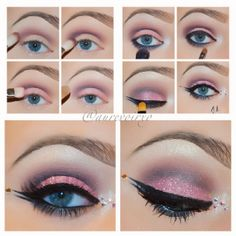 #ShareIG Pretty in Pink Eye Tutorial: *Primed eyes with @urbandecaycosmetics Primer Potion 1. Apply Haux from Mac in the crease with a 222 brush 2. With the same brush apply Mac - Shadowy Lady in the lower crease 3. On the lid using a Mac 239 brush, pack on the eyeshadow called Girlie also from Mac 4. Apply your highlight under your brow arch and in the tear duct, I used Mac Phloof!  5. Mac - Smolder on your waterline and take the 239 brush and smudge it out on your lower lashline, then take…