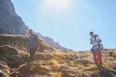 Genießen Sie die Berge am Arlberg im Sommer.