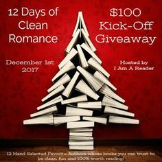 Smiling Book Reviews: $100 Kick-Off Giveaway: 12 Days of Clean Romance