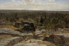 Victor Westerholm - Maisema Ahvenanmaalta Gabriel, Grand Canyon, Victoria, Gallery, Nature, Travel, Exhibitions, Rocks, Paintings