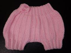 Crochet Pantaloncito o Cubridor de Pañales