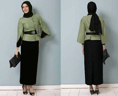 Model Baju Kerja Guru Muslim Dress Inpiration Pinterest Muslim