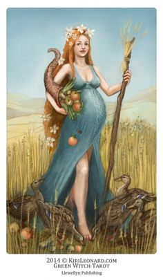 Earth Mother (The Empress) - Green Witch Tarot